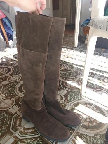Ženska obuća   Ruski Krstur: Antilop cizme br.38