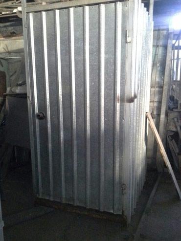 Душ металический. Для дома и дачи. Размер 1м×1м высота 2.20м. в Бишкек