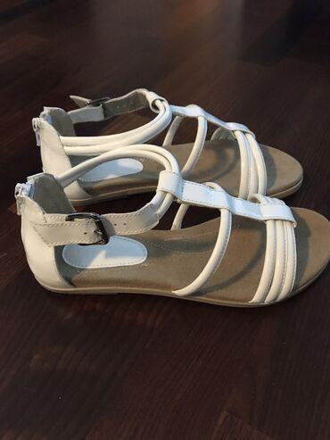 """Predivne i jako udobne kožne sandale""""Paar""""broj 38"""