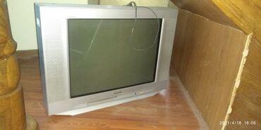Продам телевизор требуется ремонт сгорела лампа показывает