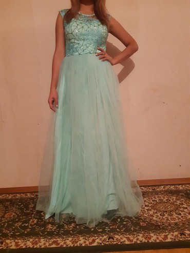 короткое платье на свадьбу в Кыргызстан: Нежное платье. производство турция. одевала один раз на свадьбу