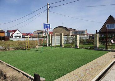 сеем газон бишкек в Кыргызстан: Искусственный газон для футбольного поля 40 ммВысота ворса: 40
