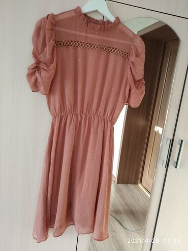 Короткое платье . Производство Турция !Лёгкое, удобноенежное
