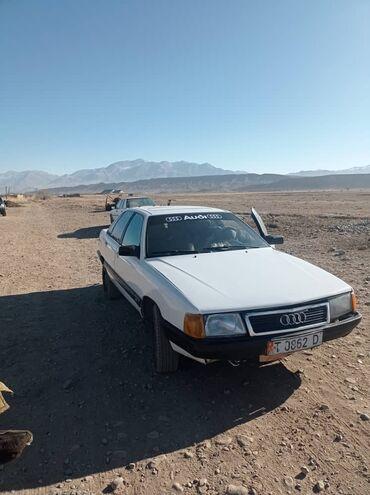 переходка в Кыргызстан: Audi 100 1.8 л. 1988