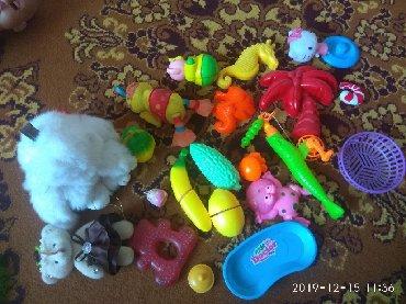 мягкая детская игрушка в Кыргызстан: Детские игрушки б/у в хор сост цены разные от200с и выше, мягкая 500с
