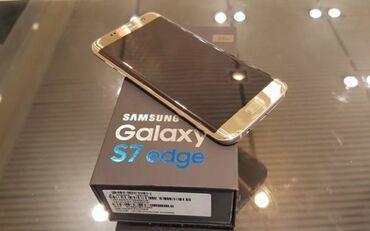 Samsung galaxy s7 duos - Азербайджан: Новый Samsung Galaxy S7 Edge 32 ГБ Золотой