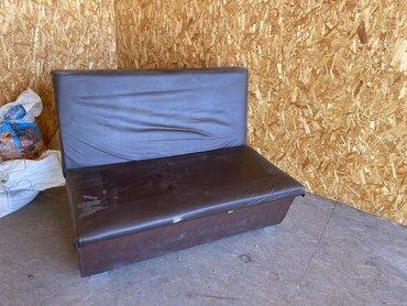 dva divan kresla в Кыргызстан: Срочно. Продаю кожанные диваны. Размер 150 см. Количество 11 штук. И