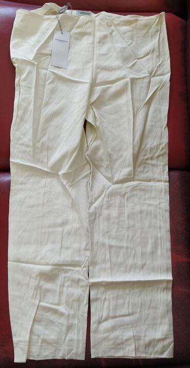 Zenske pantalone od finog materijala, broj 44