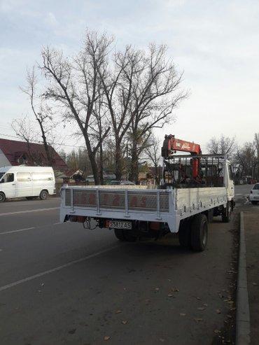 УСЛУГИ КРАН МАНИПУЛЯТОР САМ ГРУЖУ САМ ВОЖУ ГРУЗОПОДЪЕМНОСТЬ КРАН 3ТОН  в Бишкек
