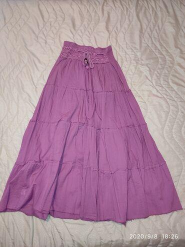 Suknja patrizia - Srbija: Dugacka suknja, boja jorgovana. Uni velicina