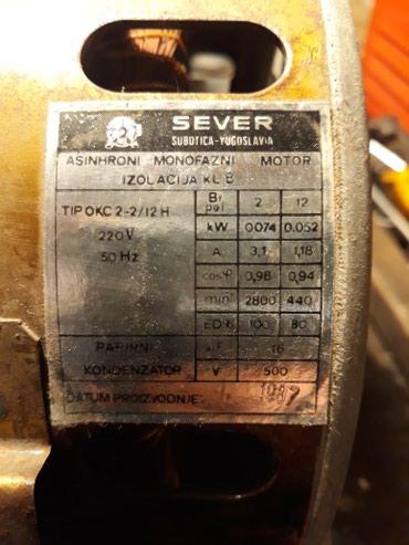 Elektronika   Becej: Motor veš mašine Gorenje u odličnom stanju ispravana oba namotaja