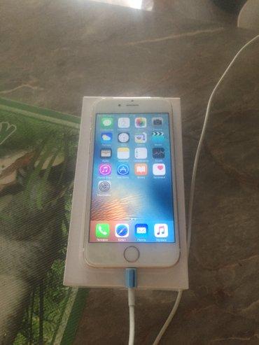 Iphone 6 gold /64 gb новый в упаковке привозили в Бишкек