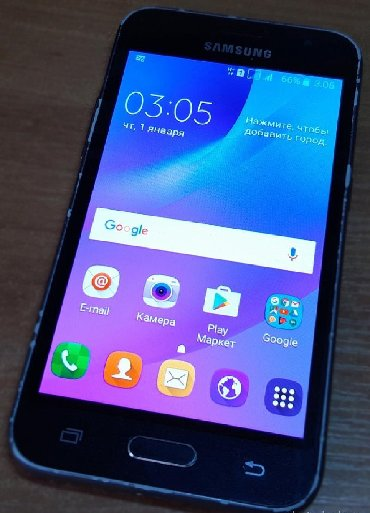Samsung galaxy j1 2016 - Azerbejdžan: Samsung Galaxy J1 2016 8 GB crno