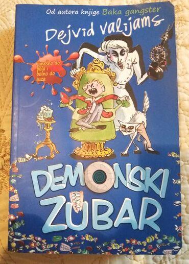 Knjiga za decu: Demonski zubarKnjiga je nekorišćena, stajala u polici