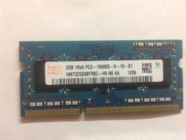 Ikiside eyni firmadi 2Gb Pc3 10600s biri ise 1GB Pc2 5300s iwlekdir