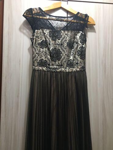 вечернее платье бирюзовый в Кыргызстан: Продаётся вечернее платье, 42р