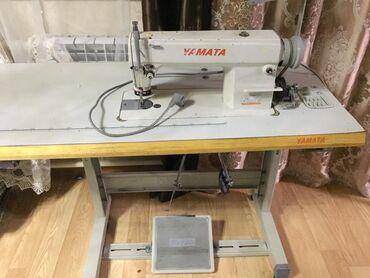 Электро швейная машинка - Кыргызстан: Продаётся электрическая швейная машинка фирмы Yamata. В идеальном сост