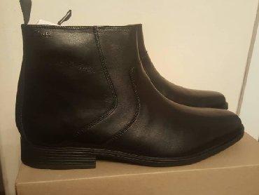 1. Продам новые, мужские деми ботинки Clarks, оригинал. Кожа, 45