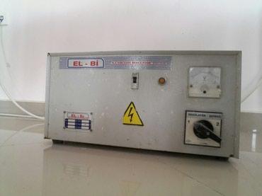 Xırdalan şəhərində Stabilizator isiq requlatoru Türkiyə istehsali EL-Bİ