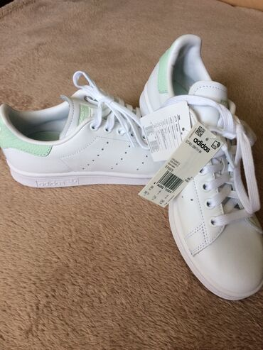 shtany messi adidas в Кыргызстан: Adidas STAN SMITH размер 38 RU (6 UK) (7 1/2 US) покупалась в