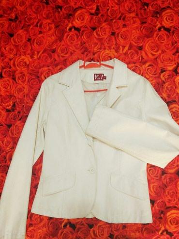 Женский кожаный пиджак. Испания. в Бишкек