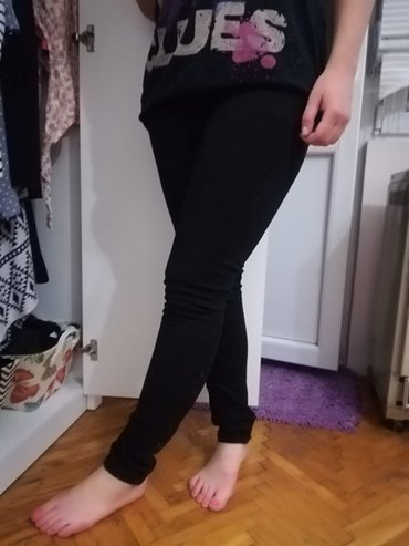Crne pantalone, veličina 29 - Beograd