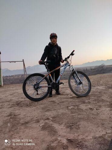 Спорт и хобби - Бишкек: Продаю велик состояние идеаль розмер колос 26 тормоз скоруч отлично