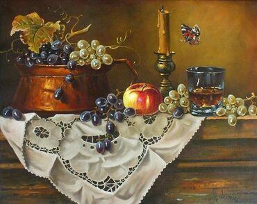 Autor: Dušan Vuković Naziv: Mali svećnjak Tehnika: ulje na platn