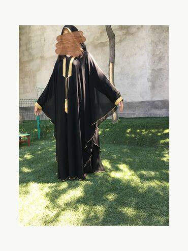 Платья в Кыргызстан: Шикарная абайка с оаэ  состояние : новая  размер : 50-52