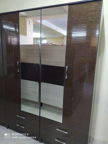 Новые 4дверные шкафы из акрила 14000 сом доставка по городу бесплатно
