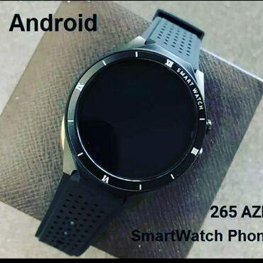 phone - Azərbaycan: Android smar watch phone  Smart ağıllı saat