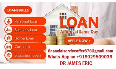 Are you in need of a finance?Do you want to pay off your bills? at