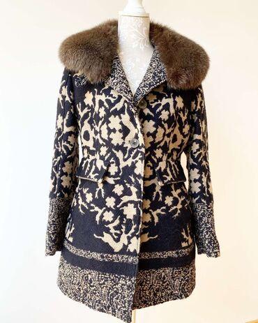Original Habsburg kaput vuna i pravo krzno (moze da se skine) Velicina