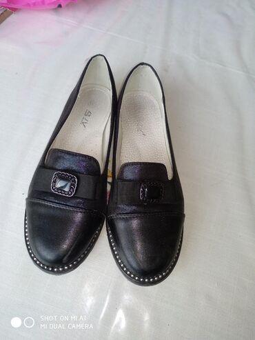 черные-женские-туфли в Кыргызстан: Туфли черные 35 размер Состояние отличное