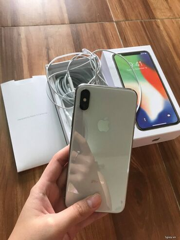 Real aliciya bakiya getire bilerem, Iphone x 64gb Silver ideal veziyye