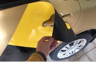 Аксессуары для авто в Кызыл-Суу: Магнитная наклейка Яндекс такси для хонда стрим 2001 чёрный свет 1500