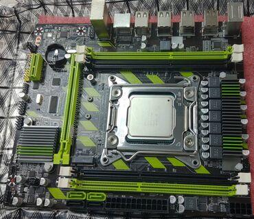 пк бишкек in Кыргызстан | ДРУГИЕ КОМПЛЕКТУЮЩИЕ: Продаю комплектМатеринка Atermiter X79G X79 с LGA2011Процессор Xeon E5