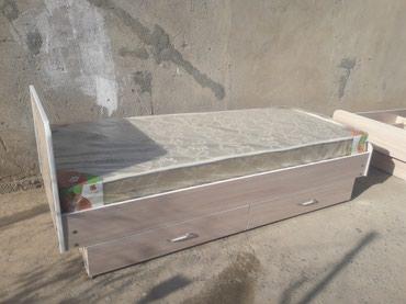 Односпальный кровать  с матрасом 5000сом. в Бишкек