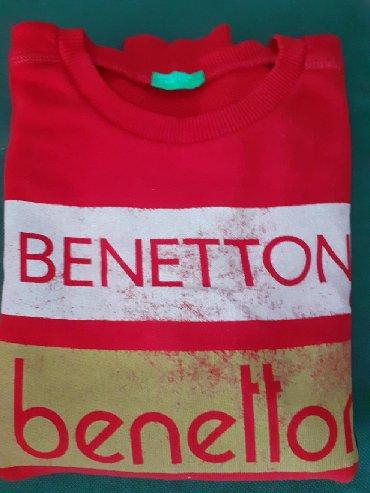 Benetton-decji-duks-xl - Srbija: BENETTON duks vel 8-9 (140cm) Odlično ocuvan . Original