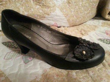 Туфли кожа, сост идеальное, б/у, цена 1500 сом размер 40 в Лебединовка