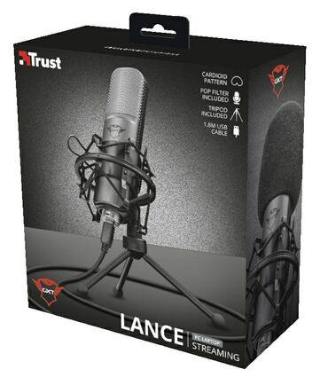 Аудиотехника - Кыргызстан: Продаю отличный Микрофон Trust GXT 242 Lance для блогеров и