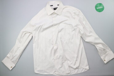 Чоловіча сорочка у смужку Emreko р. XL    Довжина: 70 см Ширина плечей
