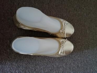 Zlatne baletamke - Srbija: Zlatne ženske baletanke Broj 38 *Dostupne i u sivoj i beloj boji
