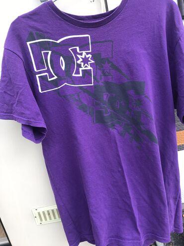 Фиолетовая футболку dc shoes оверсайз 250с торг уместен