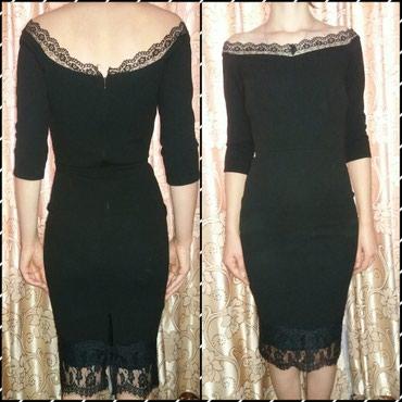 черное платье турция в Кыргызстан: Продаю платье производство турция 46 размер черного цвета. Одевала
