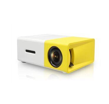 Проектор Led Projector YG300 мультимедийный с динамикомМини проектор