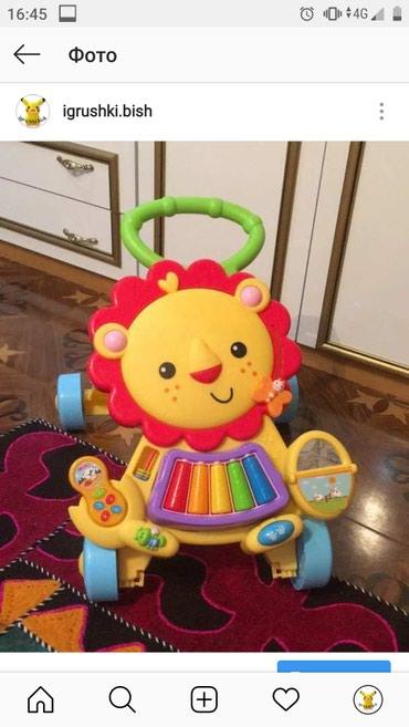 Каталка-ходунки Baby Walker 2in1игровой в Бишкек
