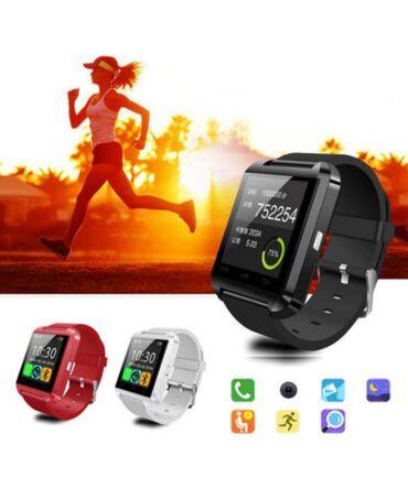 Sade Smart Saat (Smart Watch). Yenidir. Bluetoothla qosulur istenilen