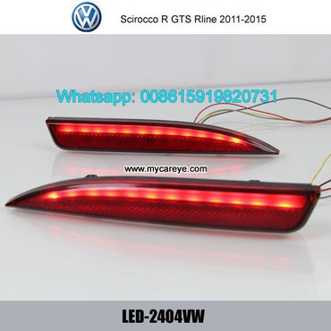 VW Scirocco R GTS Rline LED running Bumper Brake Lights  Model in Malangawa