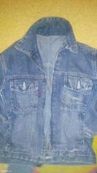 Dečije jakne i kaputi | Uzice: Decija teksas jakna broj 6 za uzrast 6 do 7 godina dimenzije rukav 40
